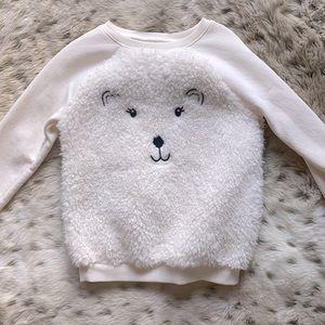 NWOT Old Navy cozy polar bear sweatshirt 5T